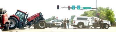 Arizona man seriously injured in crash with tractor