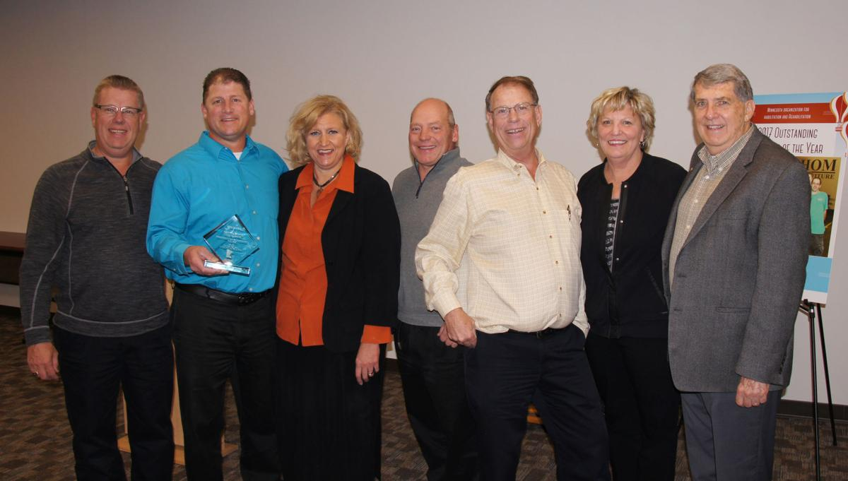 Hom furniture recognized with award community for Hom furniture inc