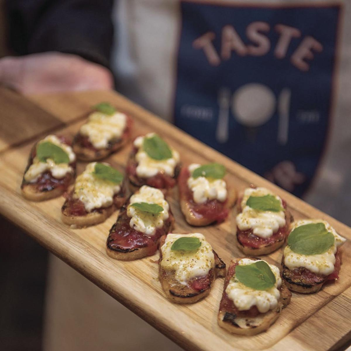 Taste Fore the Tour - food up close
