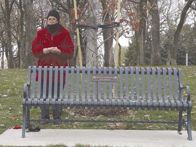 Bettina Potter Rose Johnson bench