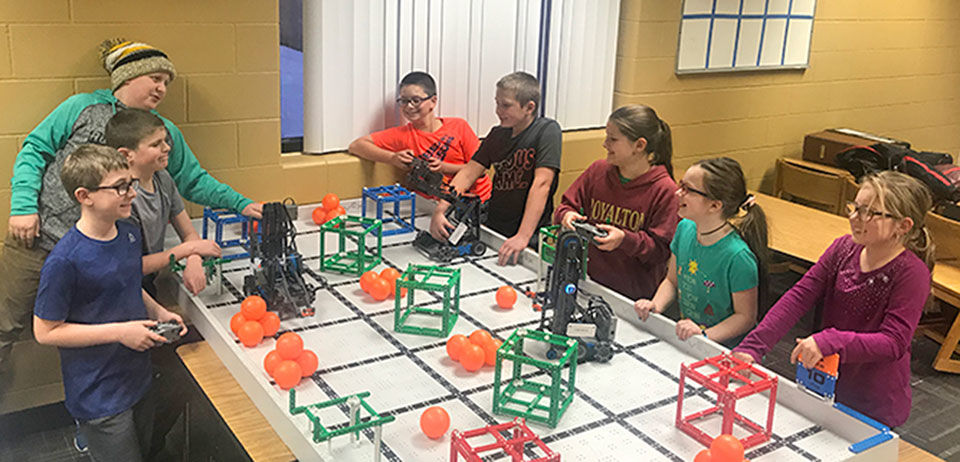 Royalton Robotics team students qualify for Minnesota State VEX IQ State Championship