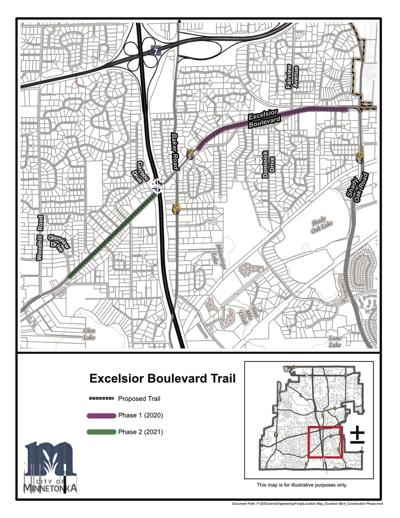 Excelsior Boulevard Trail project