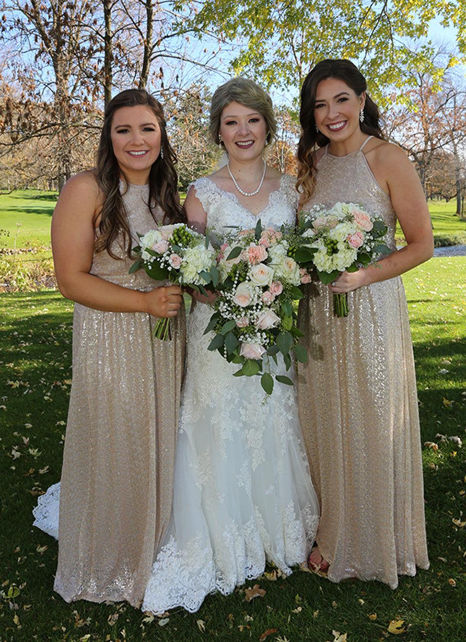 Wedding bells amid tribulations for Reardon sisters