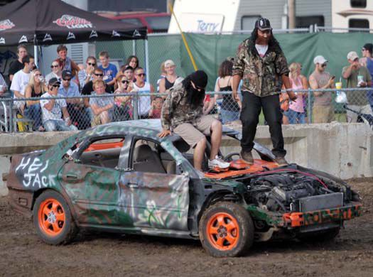 At The Demo Derby Good Fortune As Important As Good Hits Sports Hometownsource Com