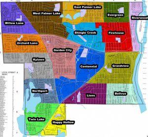 map of brooklyn center mn Neighborhood Boundaries Finalized In Brooklyn Center Sun Post map of brooklyn center mn