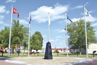 Milaca adds obelisk to Veteran Memorial