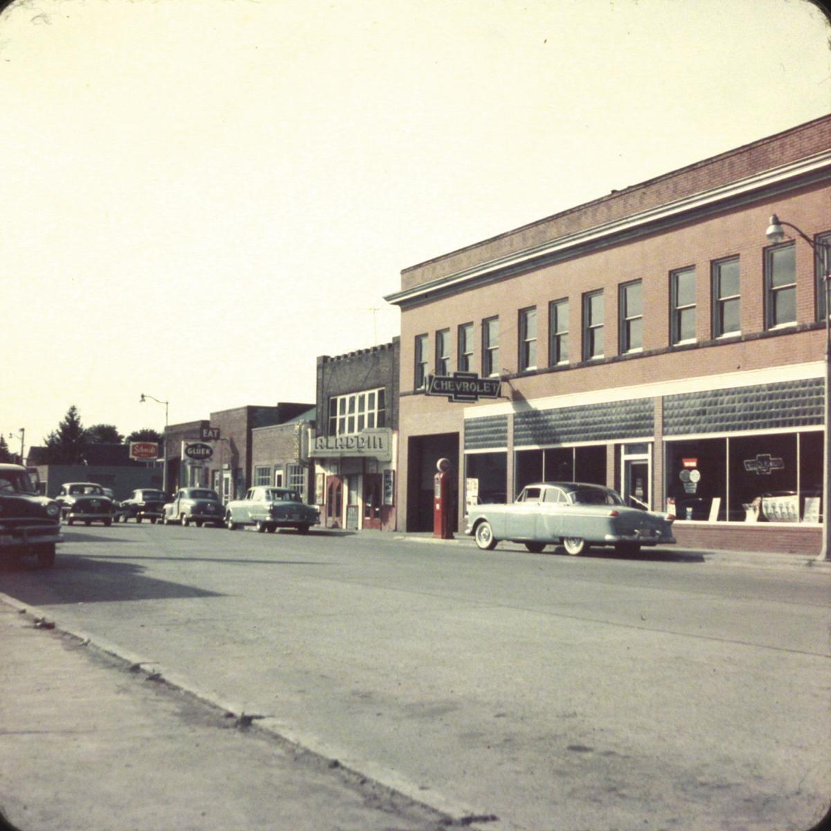 Bob Johnson Chevrolet >> North Chisago Historical Society Shares Slides Of Rush City