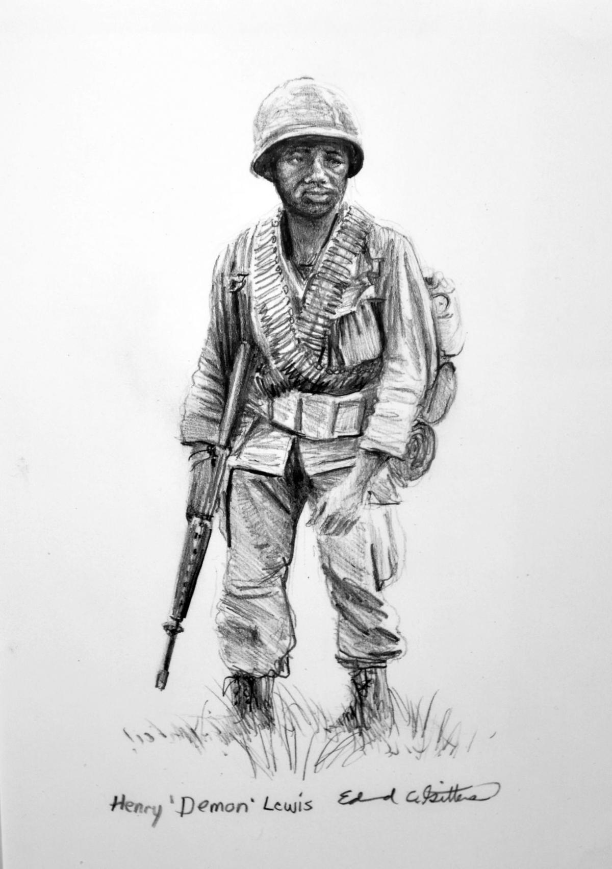 Gittens sketch