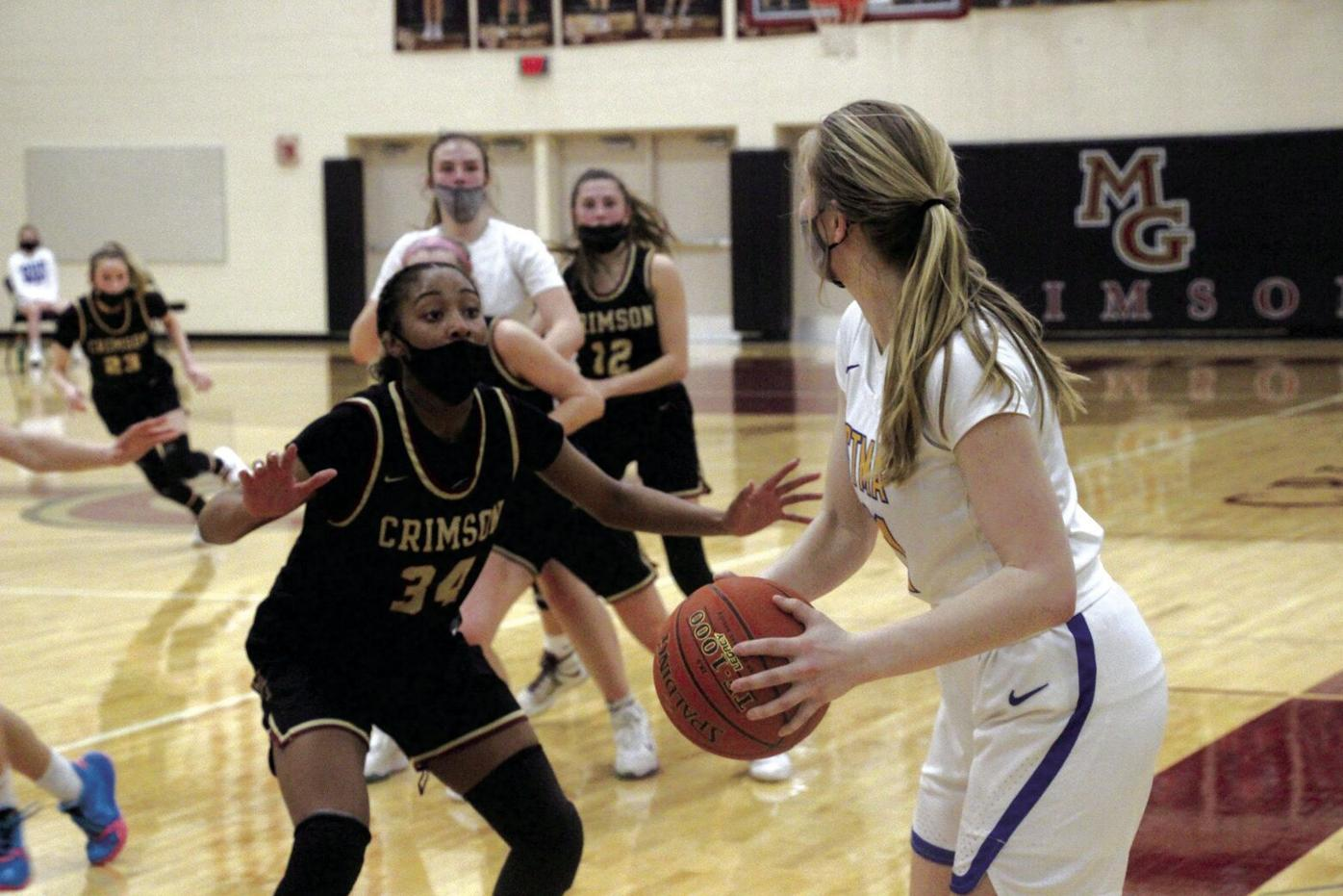 Crimson girls season ends with loss to Knights