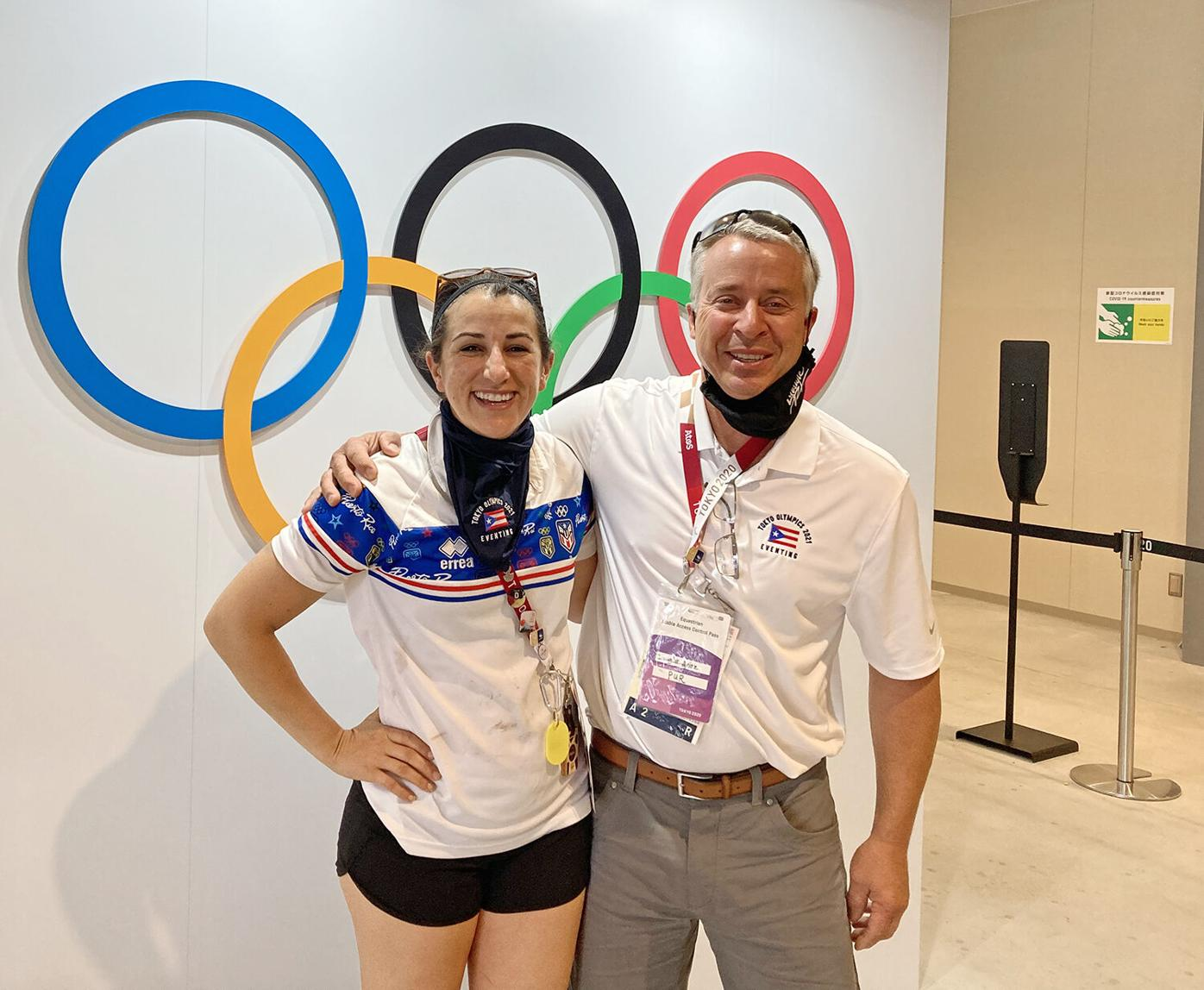Little Falls native is vet at the Tokyo Olympics