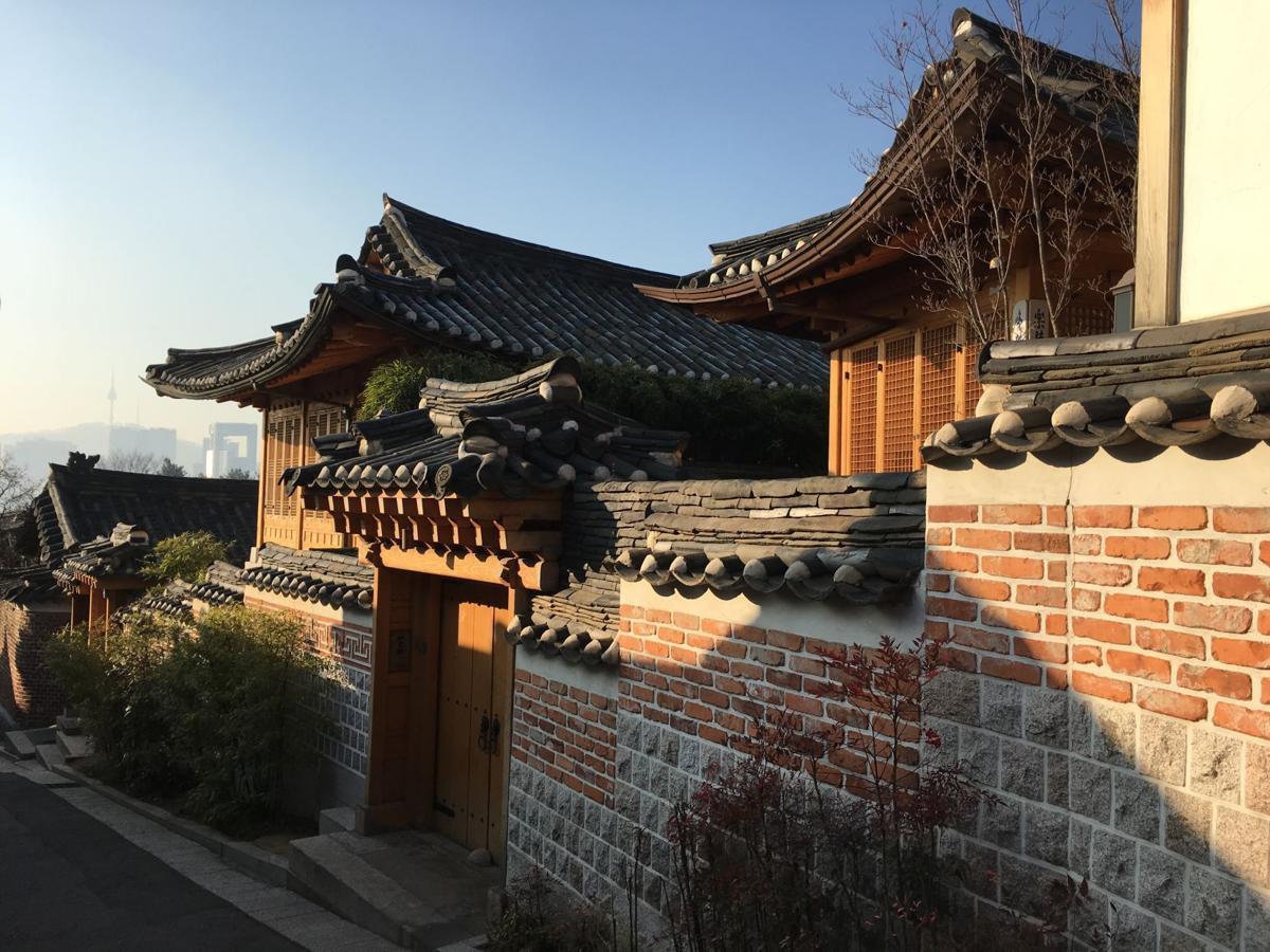 Seoul -- Hanok village