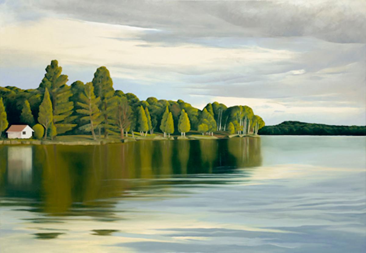 """Contemplative Landscapes"" -- ""Cisco Lake"""