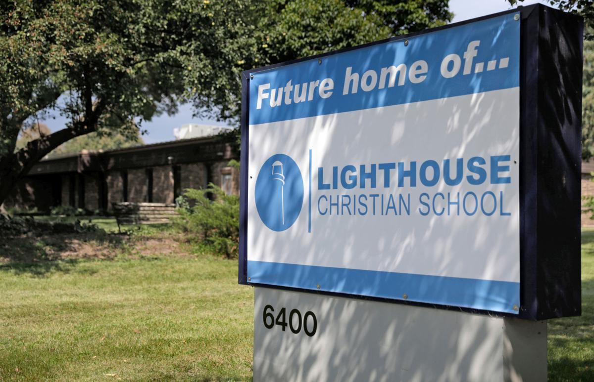 Lighthouse Christian School sign