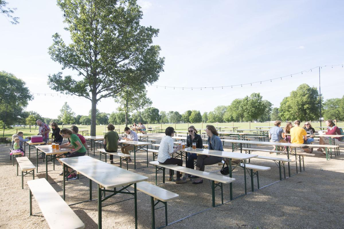 prost madison 39 s olbrich park beer garden quietly opens for the season politics and elections
