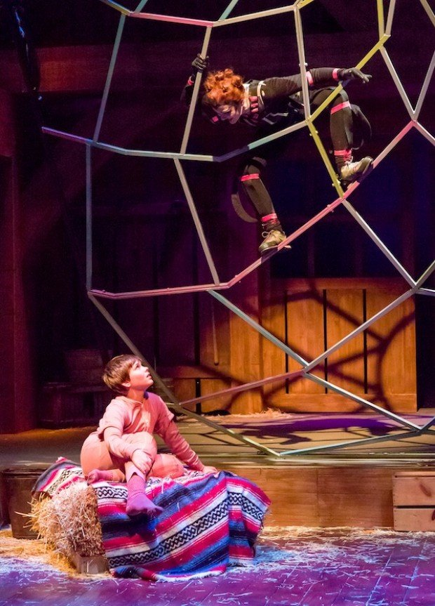 Theater Review One Radiant Spider Lights Up Ctm S