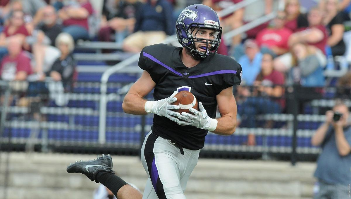 WIAC football photo: UW-Whitewater's Canton Larson