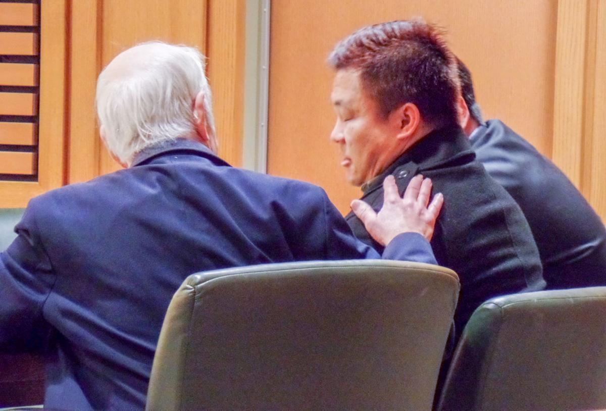 Kong Vang in court