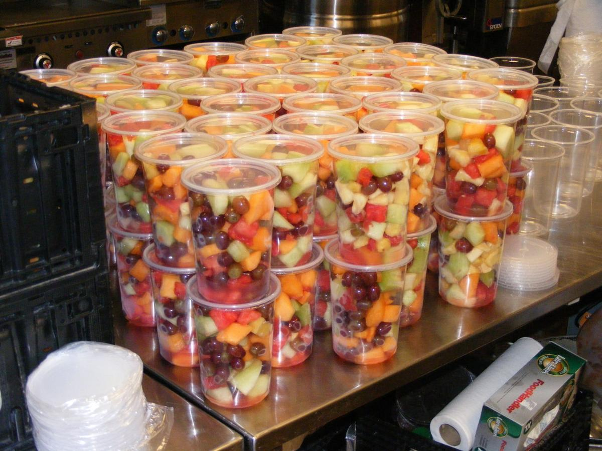 Soups and salads go from epic systems39 cafeterias to food for Madison food pantry ct