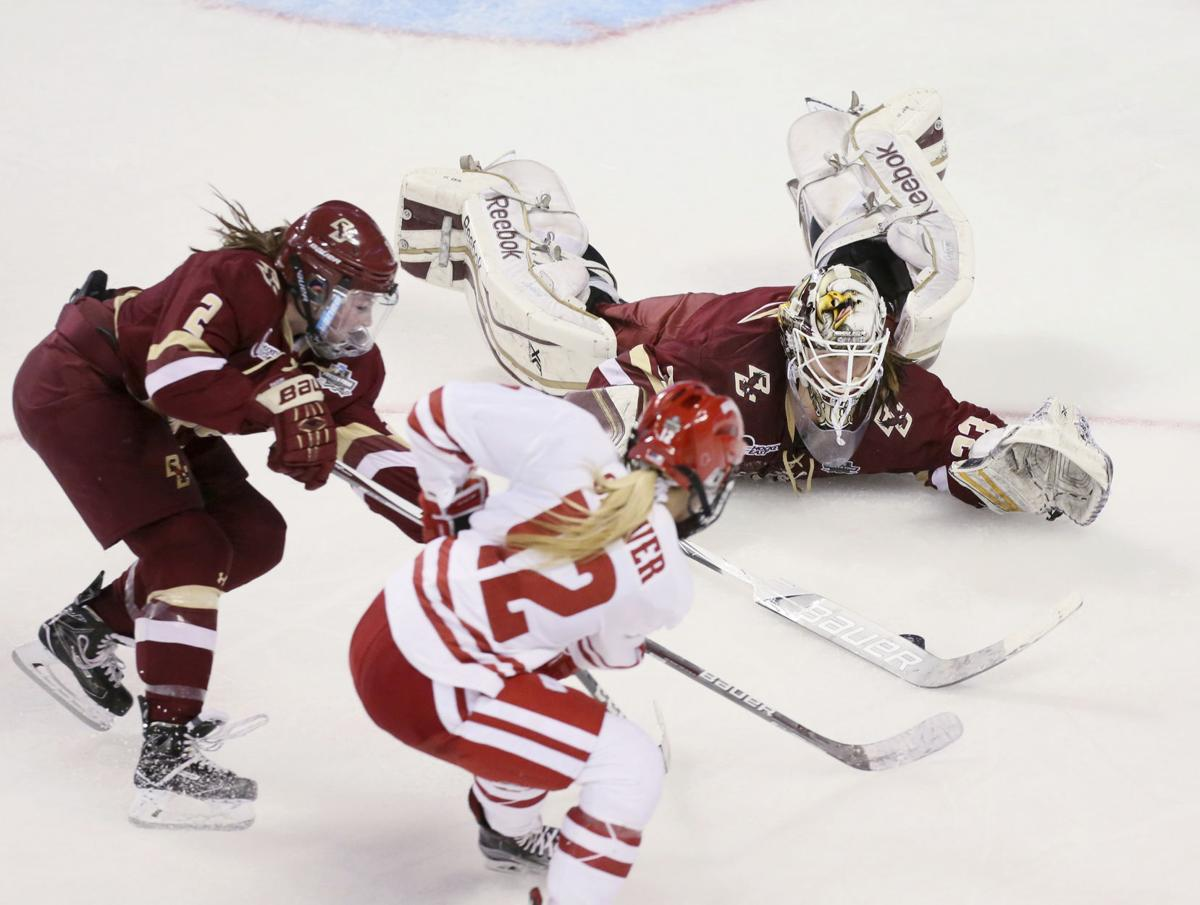 Wisconsin Boston College Hockey
