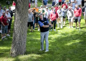 Pro golf: Paul Broadhurst shoots 69 to maintain lead after second round