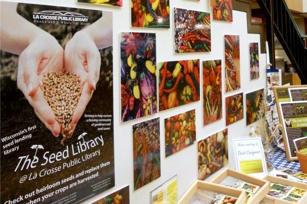La Crosse's seed sharing library was first in the state, opening in February 2013