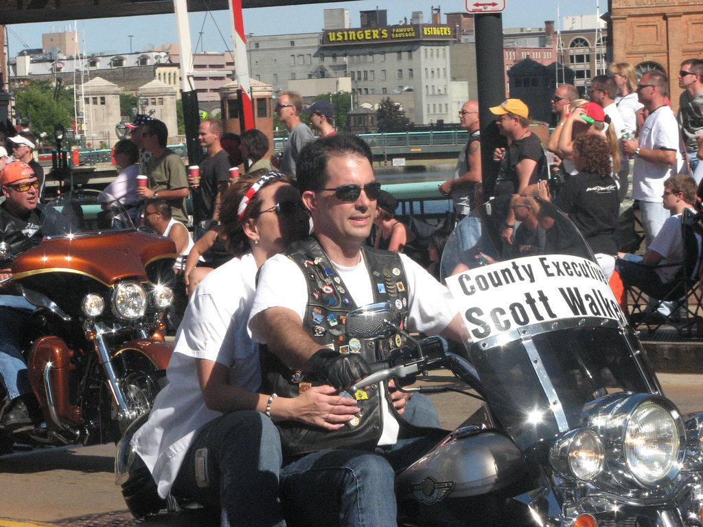 Scott Walker on motorcycle (copy)