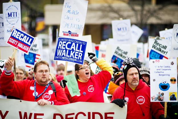 Rally against Walker V