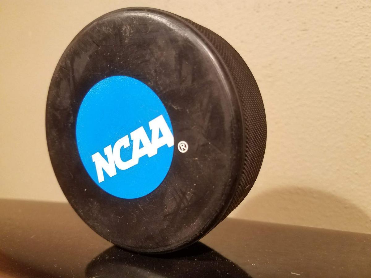 NCAA hockey puck generic