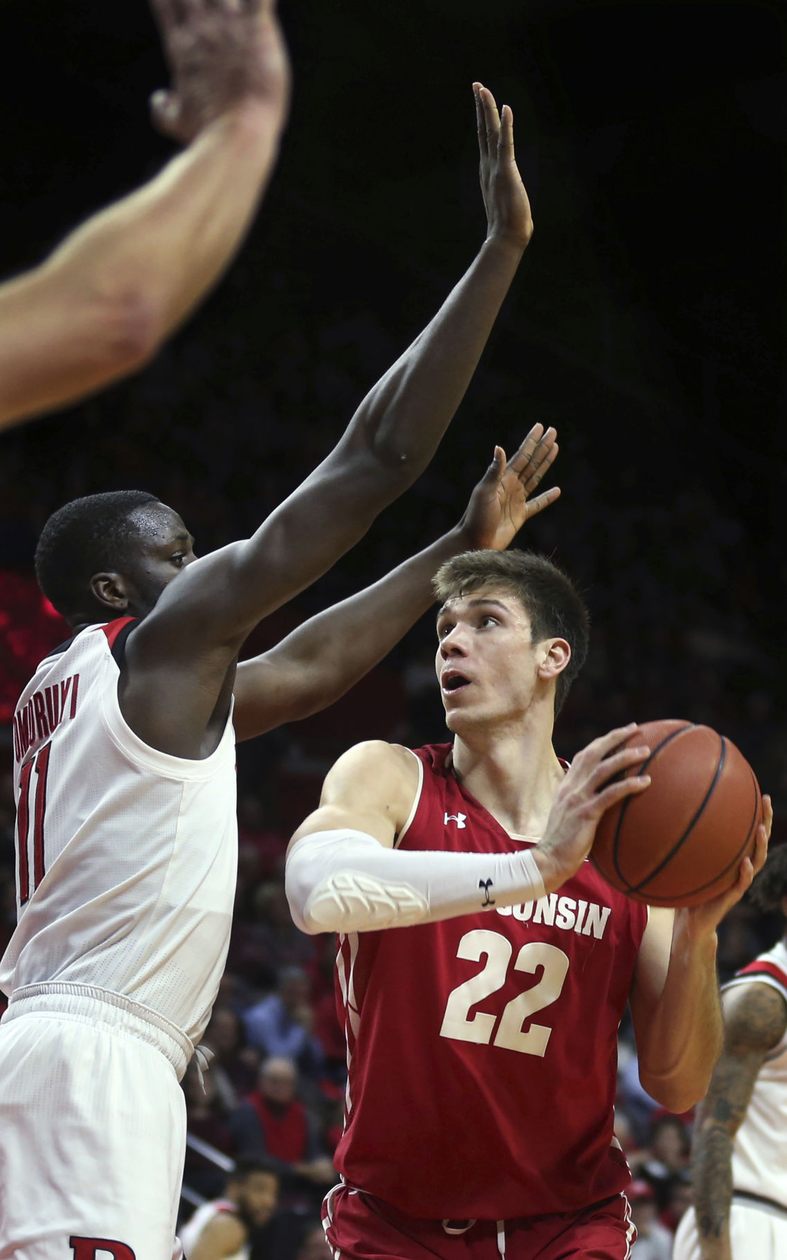 Wisconsin Rutgers basketball