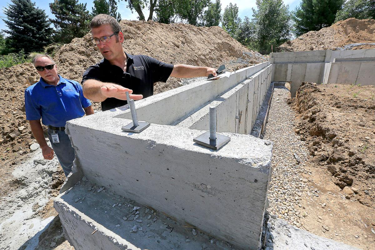 Fortified home foundation image
