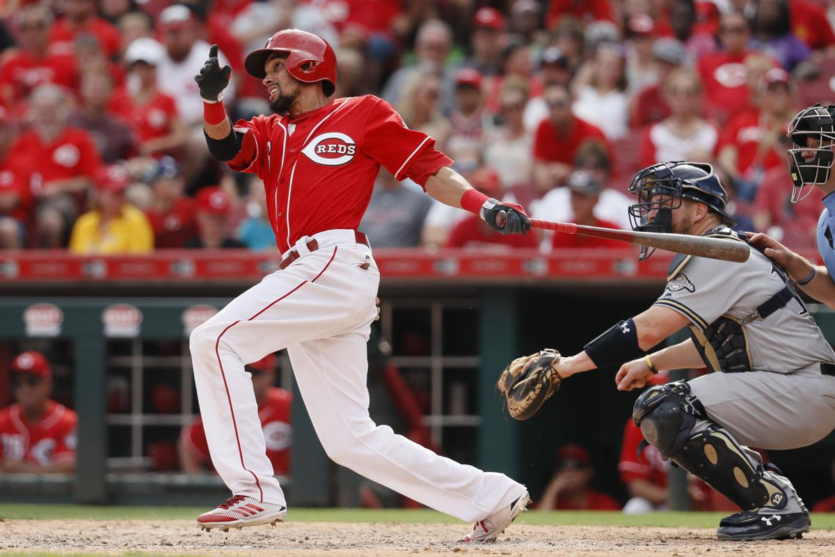 Brewers: Billy Hamilton's ninth-inning home run lifts Reds ...