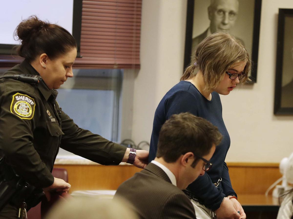 Morgan Geyser Slender Man stabbing sentencing, MJS photo