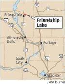 Friendship Lake map
