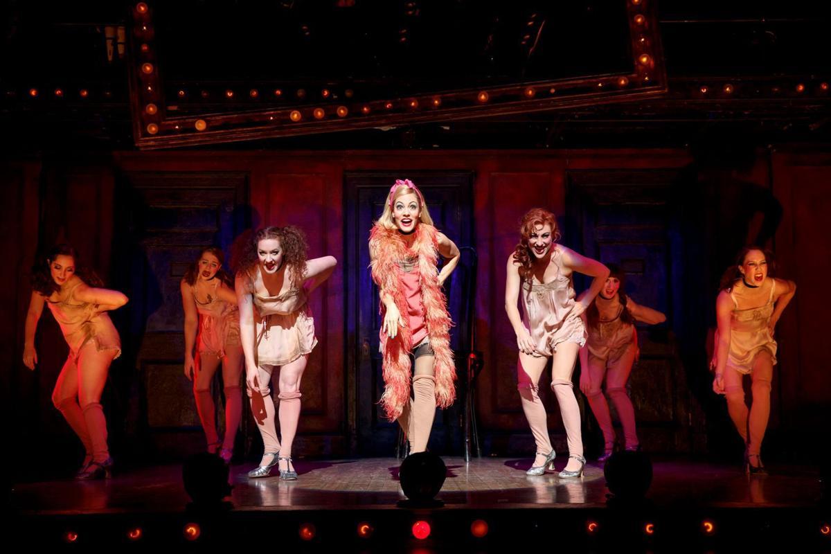 Cabaret Leigh Ann Larkin and cast