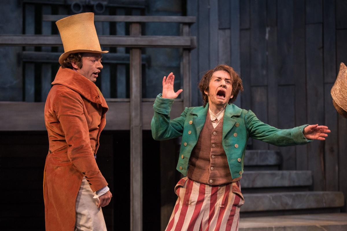 Casey and Kelsey in Comedy of Errors 2016