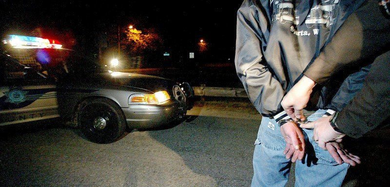 OWI DUI drunk driving arrest file photo