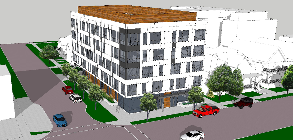 Proposed boutique hotel N. Franklin, E. Washington Ave.