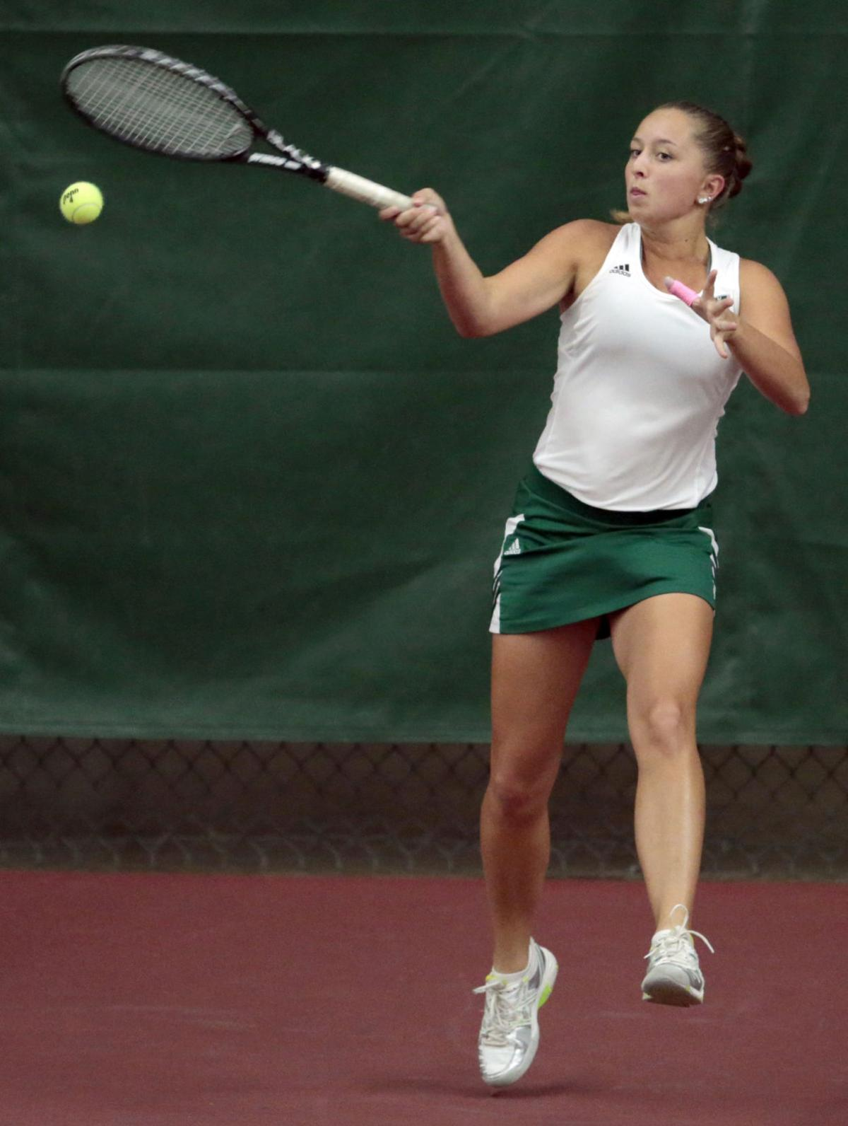how to return powerfull shots in tennis