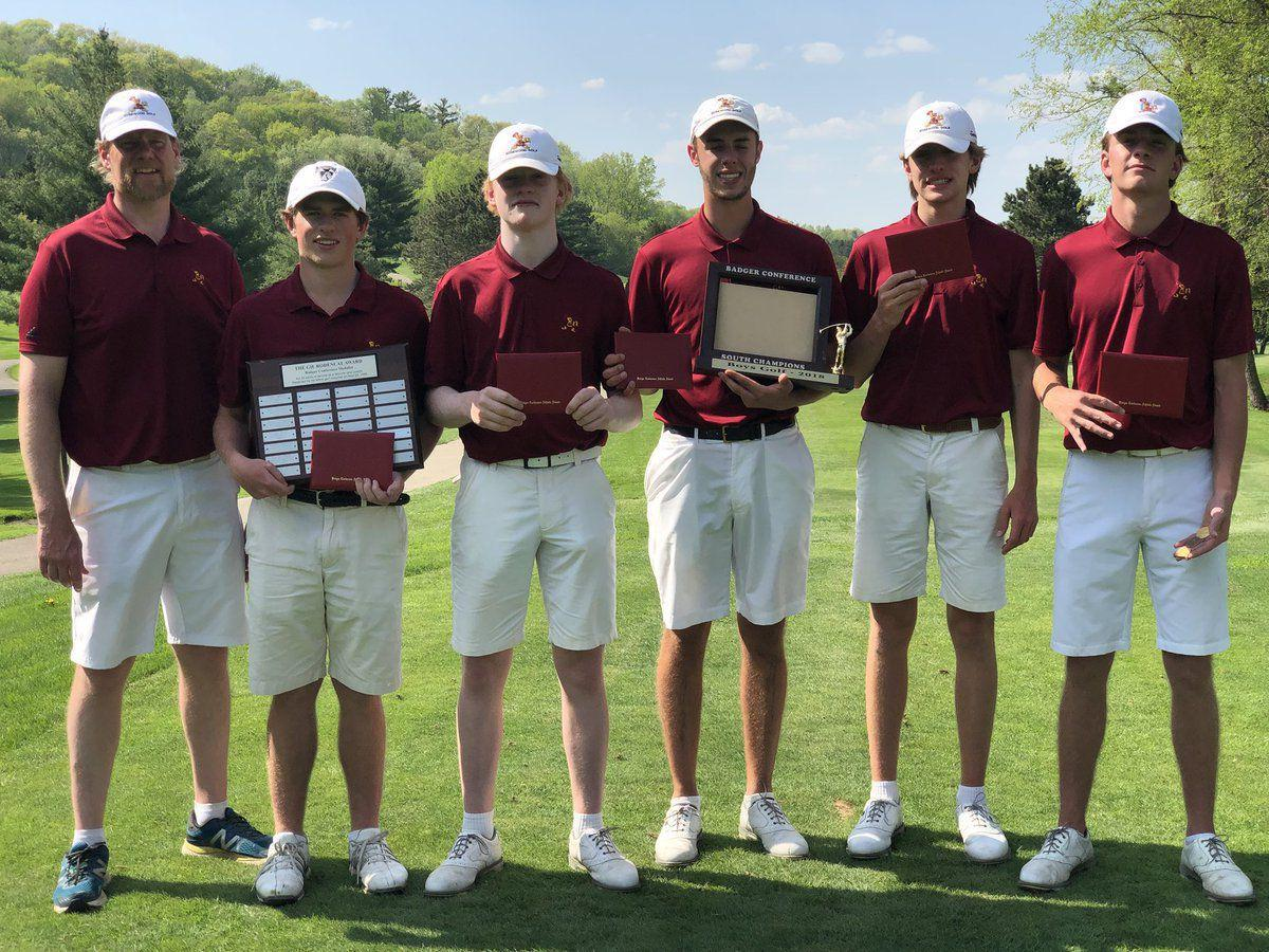 Madison Edgewood boys golf team wins Badger South Conference title