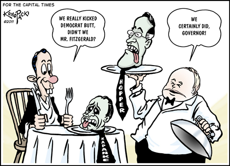 Editorial cartoon (8/17/11)
