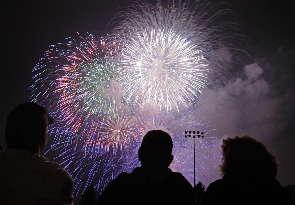 Blue Sky Science How Do Fireworks Get Their Color And