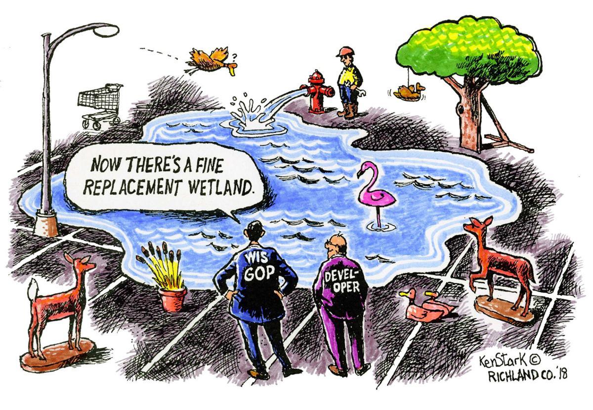 Editorial cartoon  1/21/18