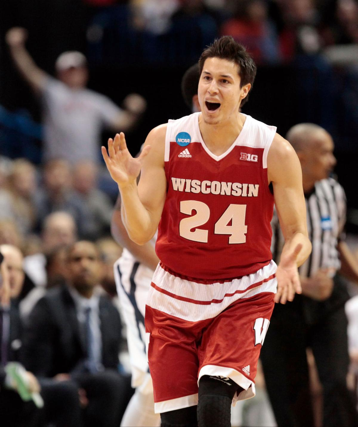 Video: Multiple angles of Bronson Koenig's 3-pointer that sent Wisconsin to the Sweet 16