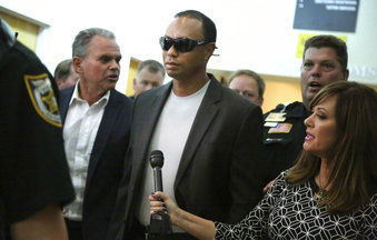 Tiger Woods DUI plea deal, AP photo