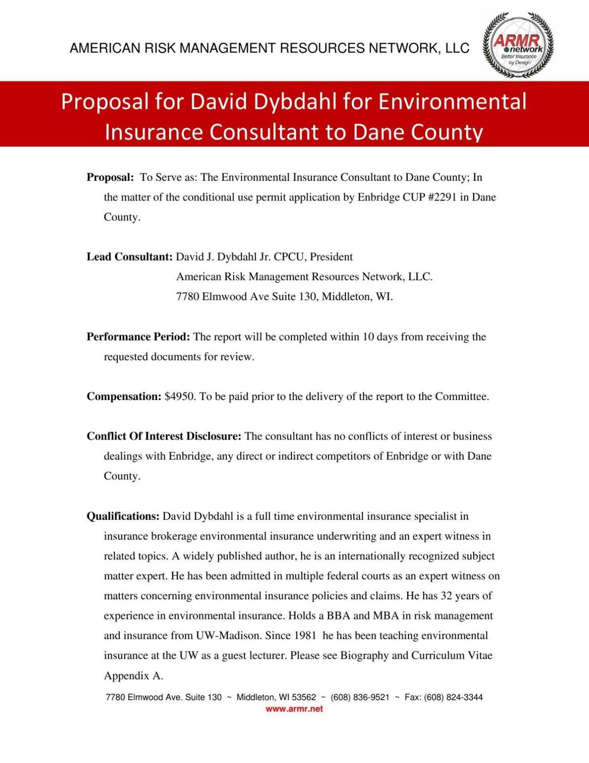 Consultant David J. Dybdahl Jr.