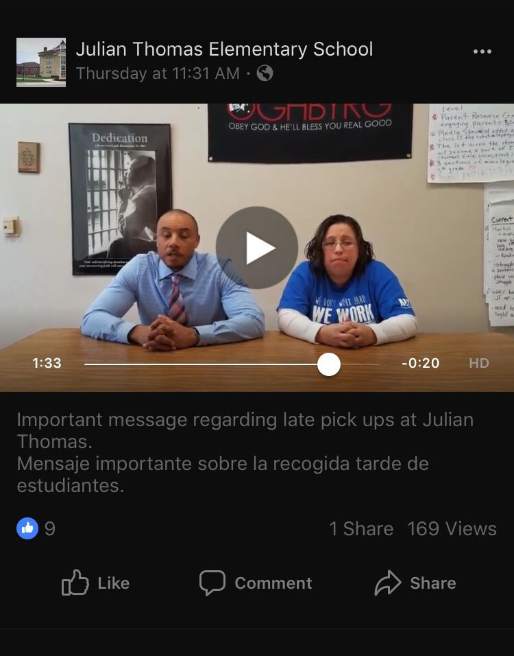 Julian Thomas Elementary School video screenshot