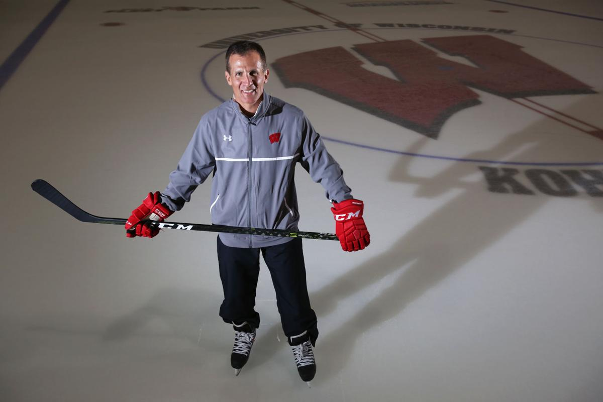 Tony Granato in skates on ice, State Journal photo, generic file photo (copy)