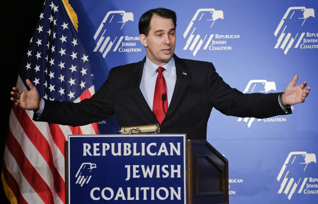 Scott Walker set for Israel trip (copy) (copy)