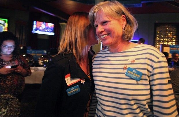 Mary Burke on election night