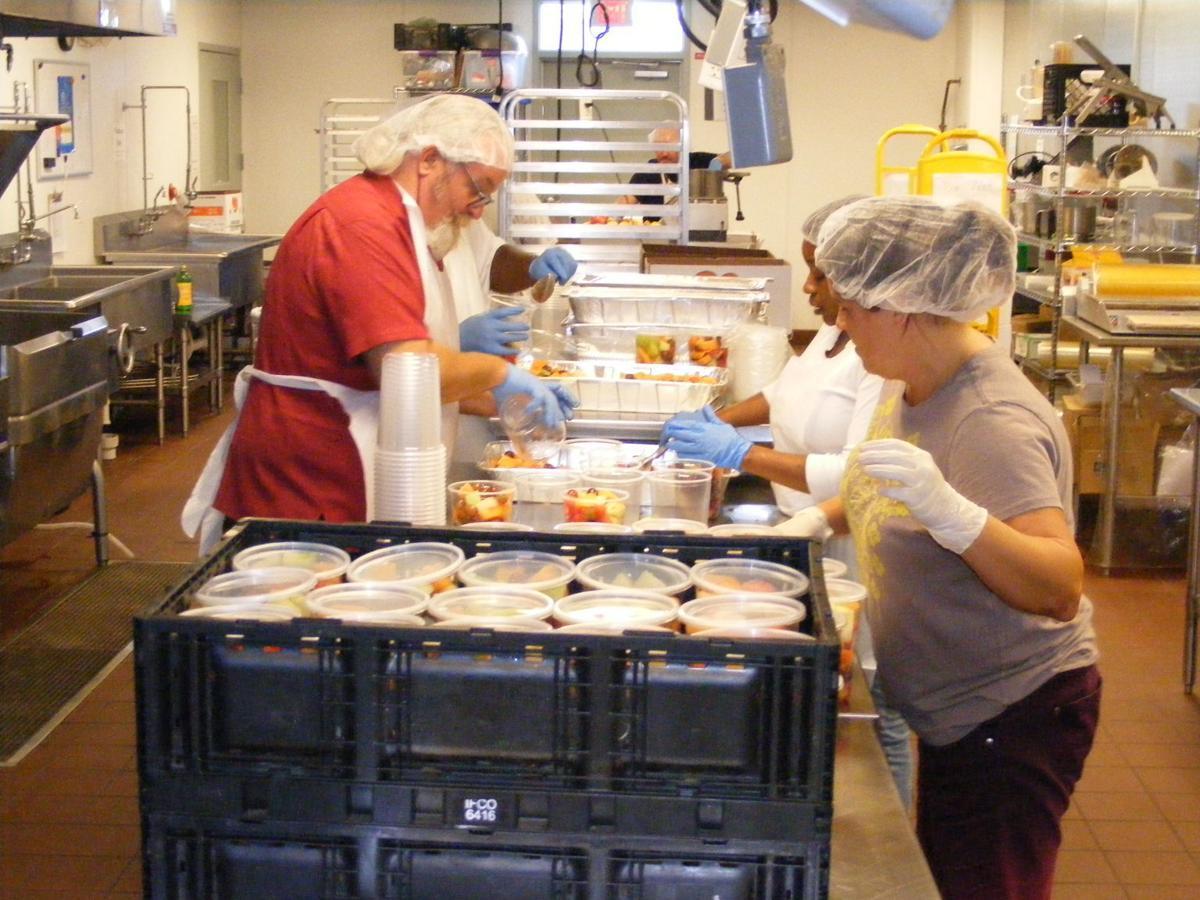 Healthy Food for All volunteers